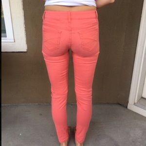 Aeropostale Jeans - ☀️Aeropostale coral jeggings
